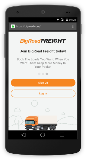 BigRoad-Freight-Onboarding