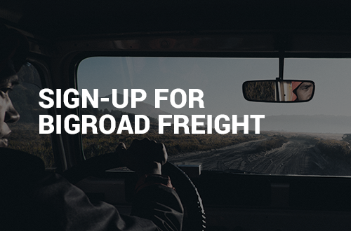 BigRoad Freight: Sign-Up for BigRoad Freight Now