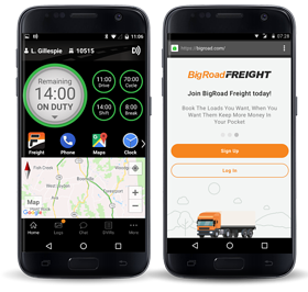 ELD solution with load matching and NO Contracts
