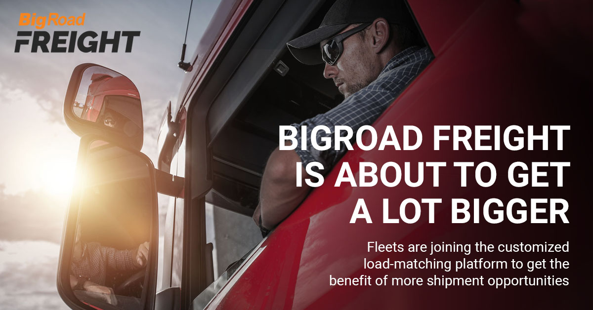 BigRoad Freight is about to get a lot bigger.