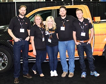BigRoad Team at Mid-America Truck Show (MATS) 2017