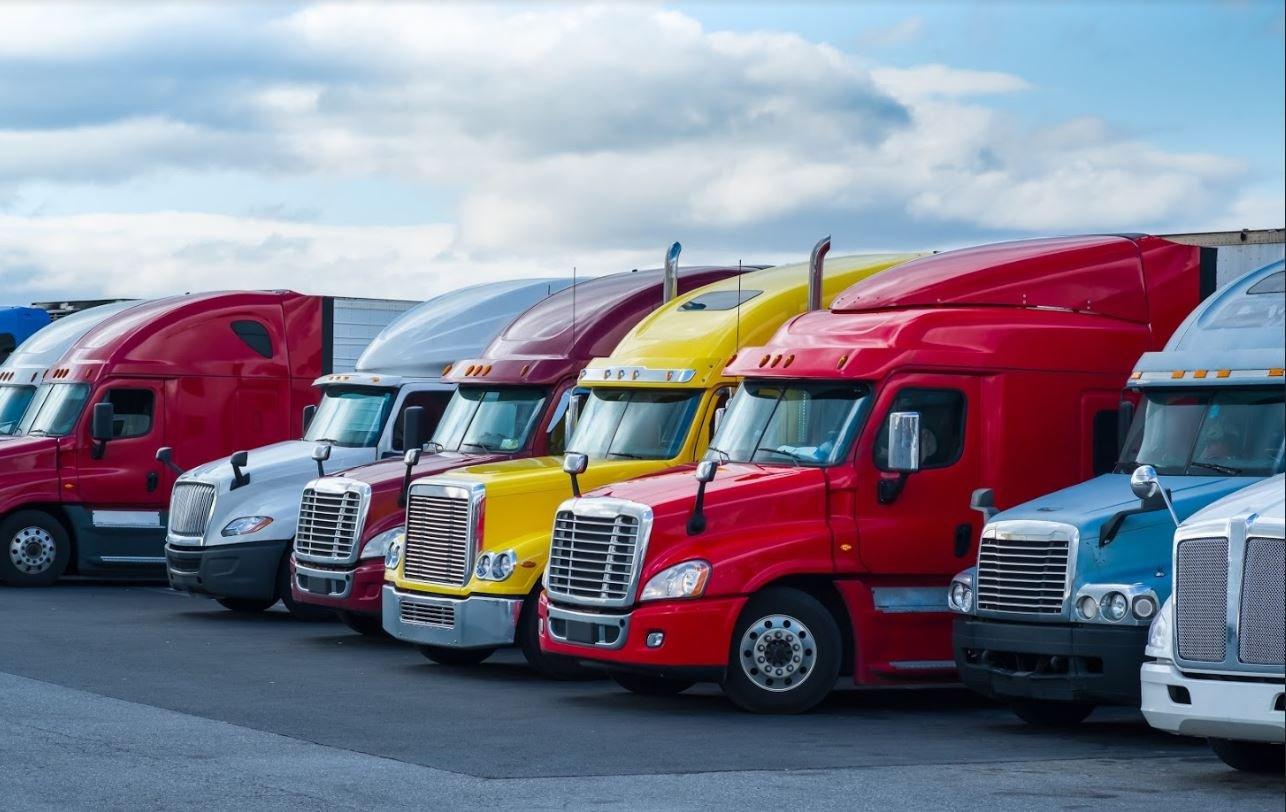 Truck fleet.-1