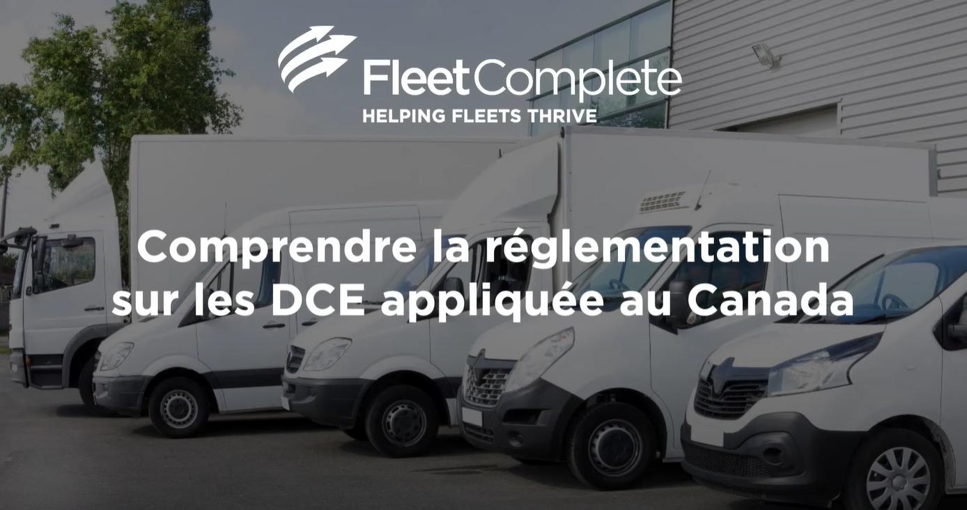 Webinar Comprendre la réglementation sur la DCE appliquée au Canada