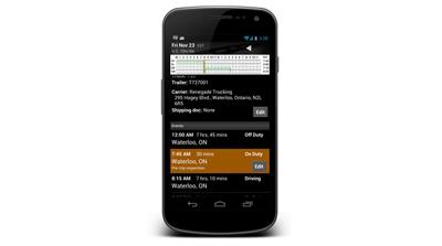 BigRoad Driver Log App