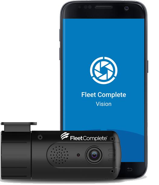 Vision app with dashcam.