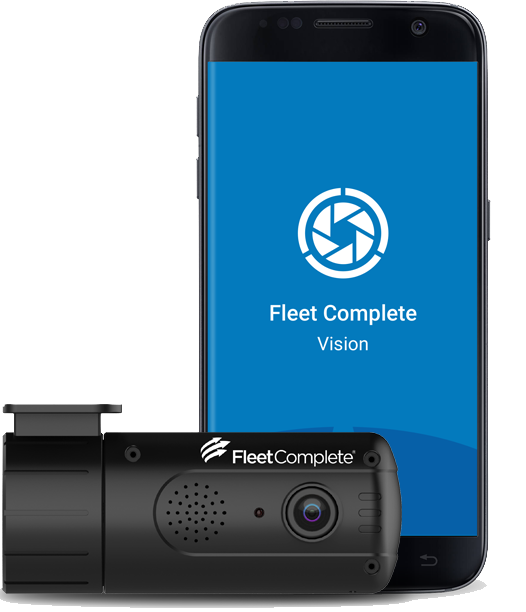 Vision app with dashcam.