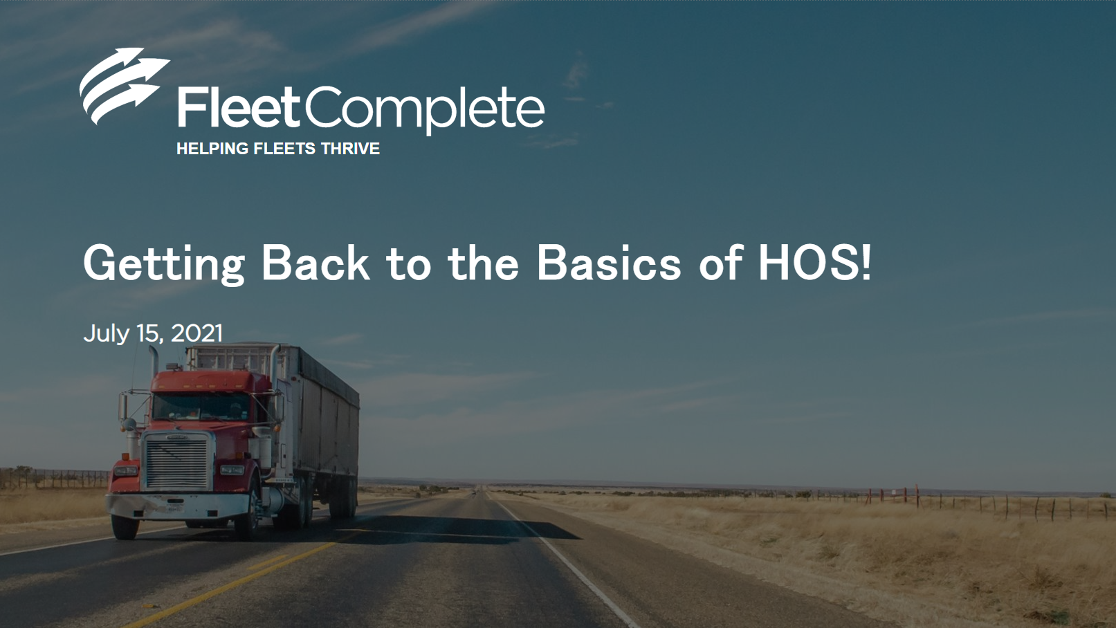 Basics of HOS